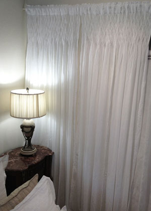 Smocked Curtain Country Interiors